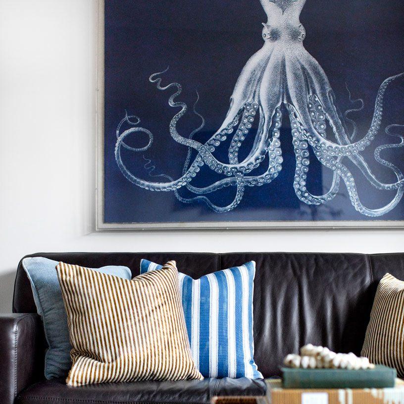 Living Room Artwork | Bria Hammel Interiors