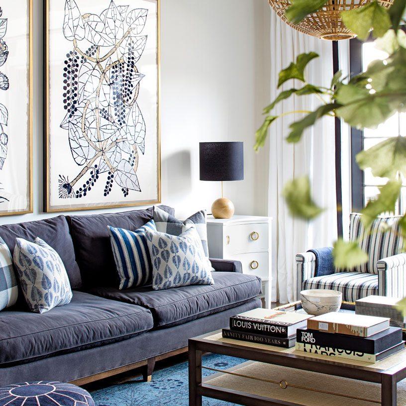 Living Room Design | Bria Hammel Interiors