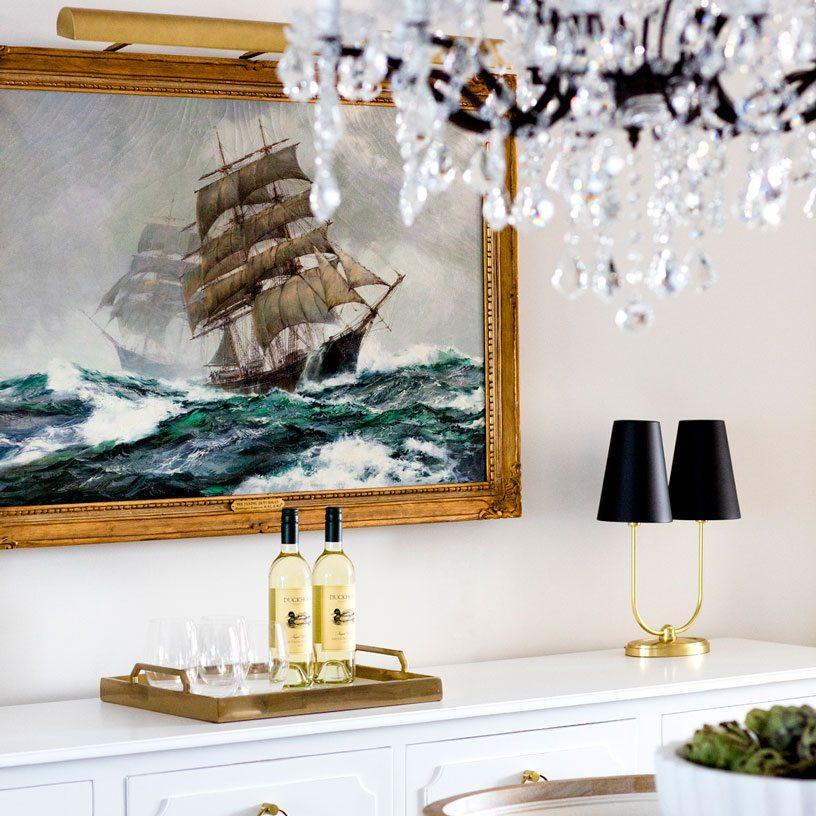 Dining Room Artwork | Bria Hammel Interiors