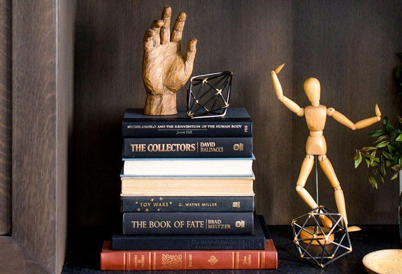 Bookshelf Styling | Bria Hammel Interiors