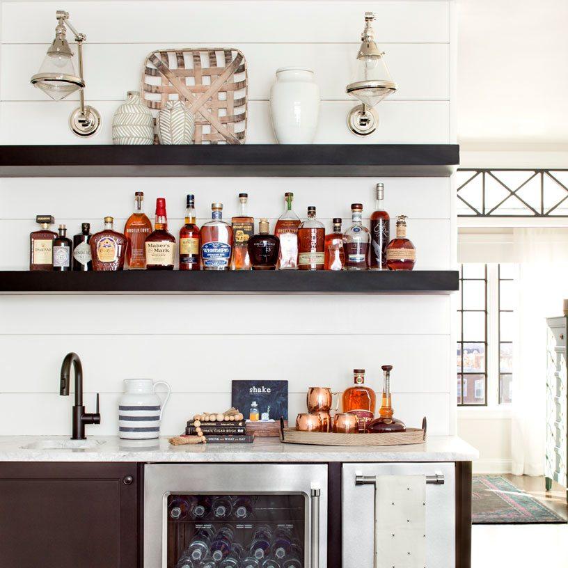 Bar Area | Bria Hammel Interiors