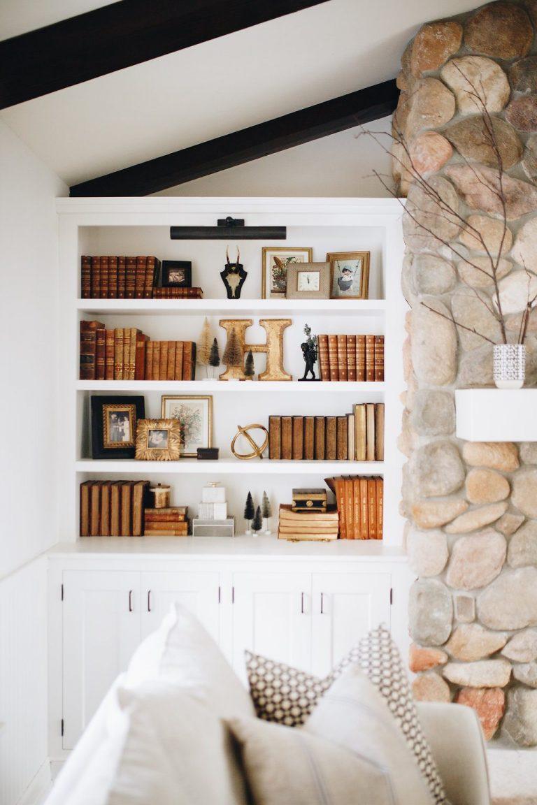 How To Style A Bookshelf | Bria Hammel Interiors | Bria Hammel Interiors