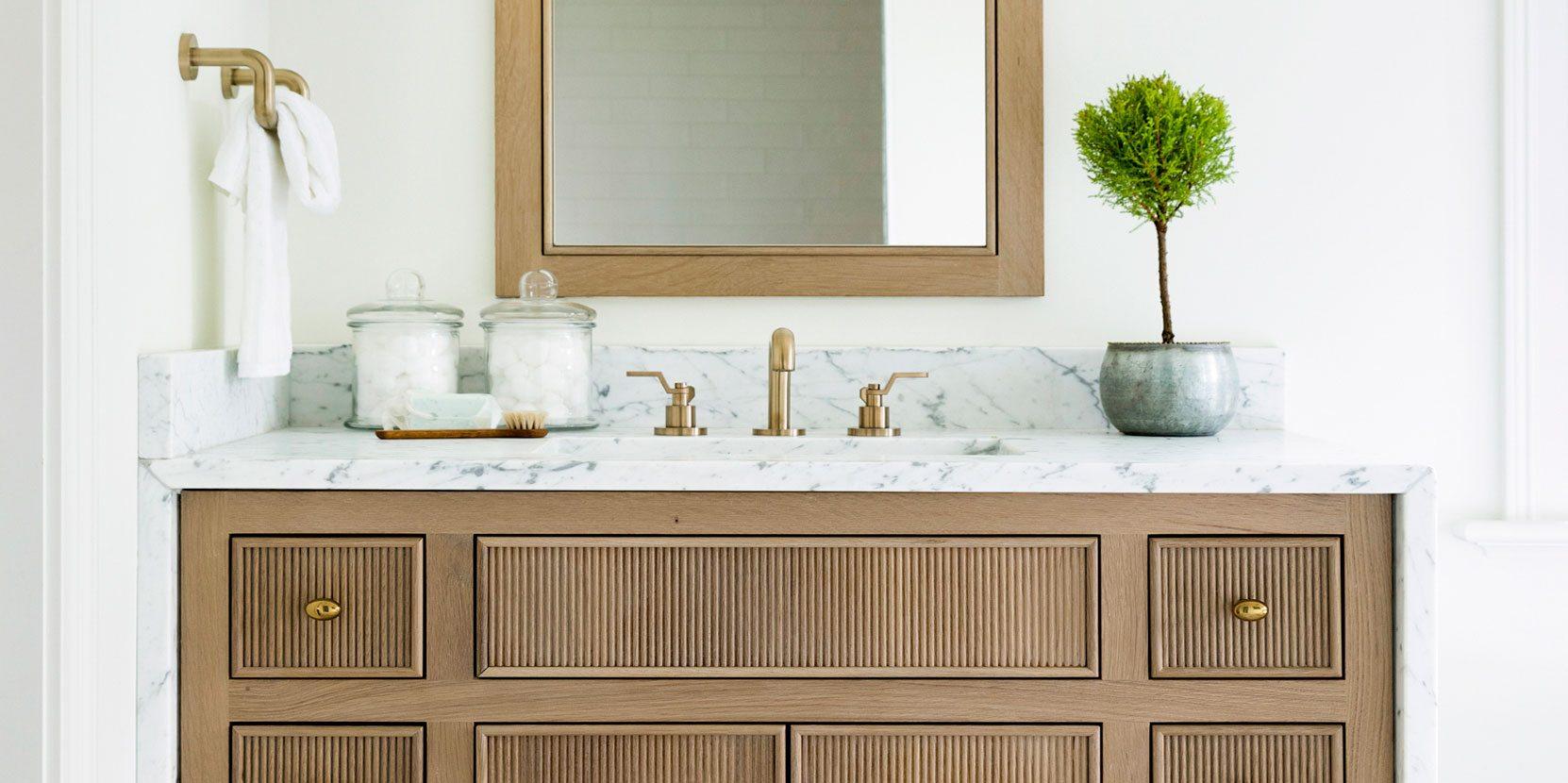 Bathroom Vanity Details | Bria Hammel Interiors