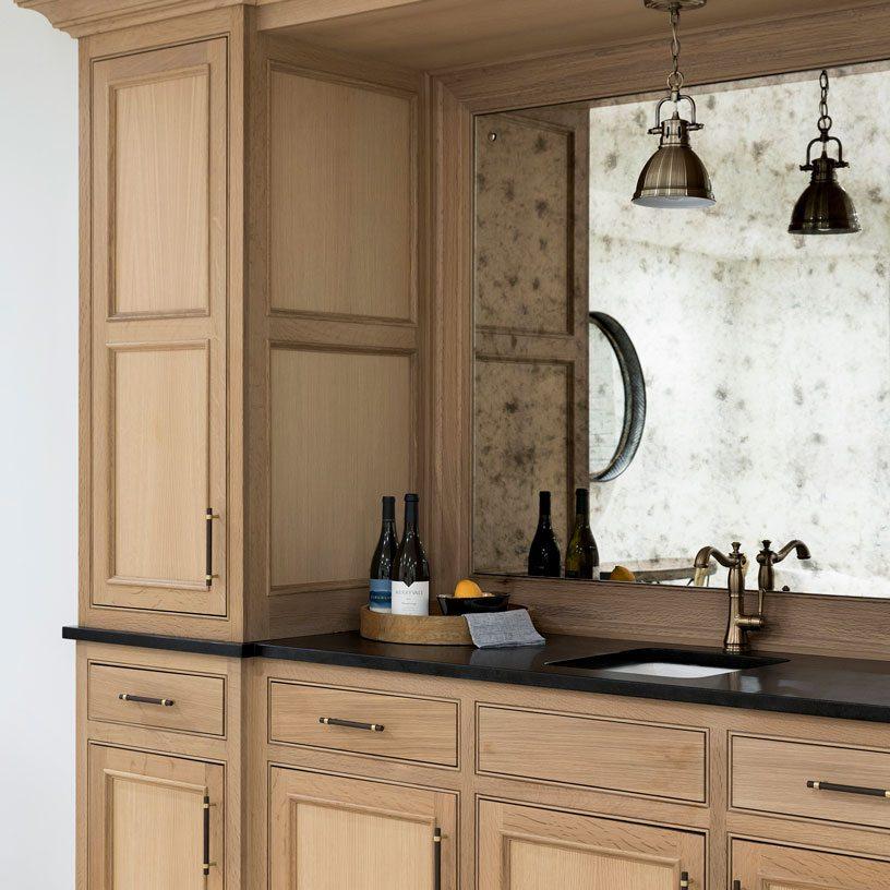 Built-in Buffet/Bar | Bria Hammel Interiors