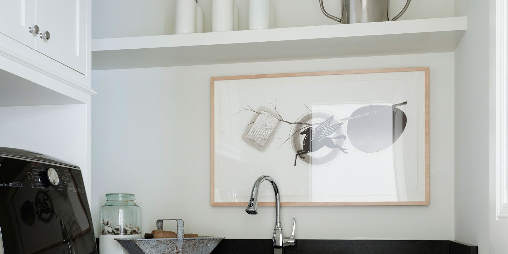 Laundry Room | Bria Hammel Interiors