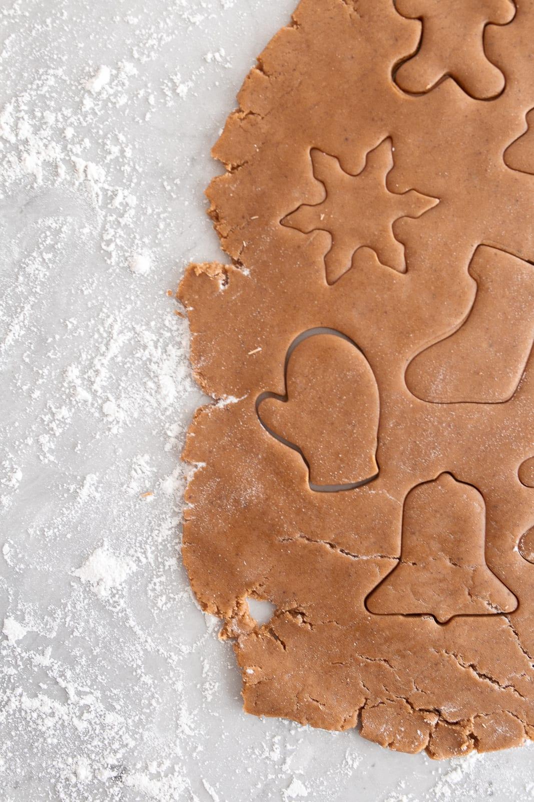 Blog Hop Cookie Swap Gingerbread Cookie Recipe Bria Hammel Interiors