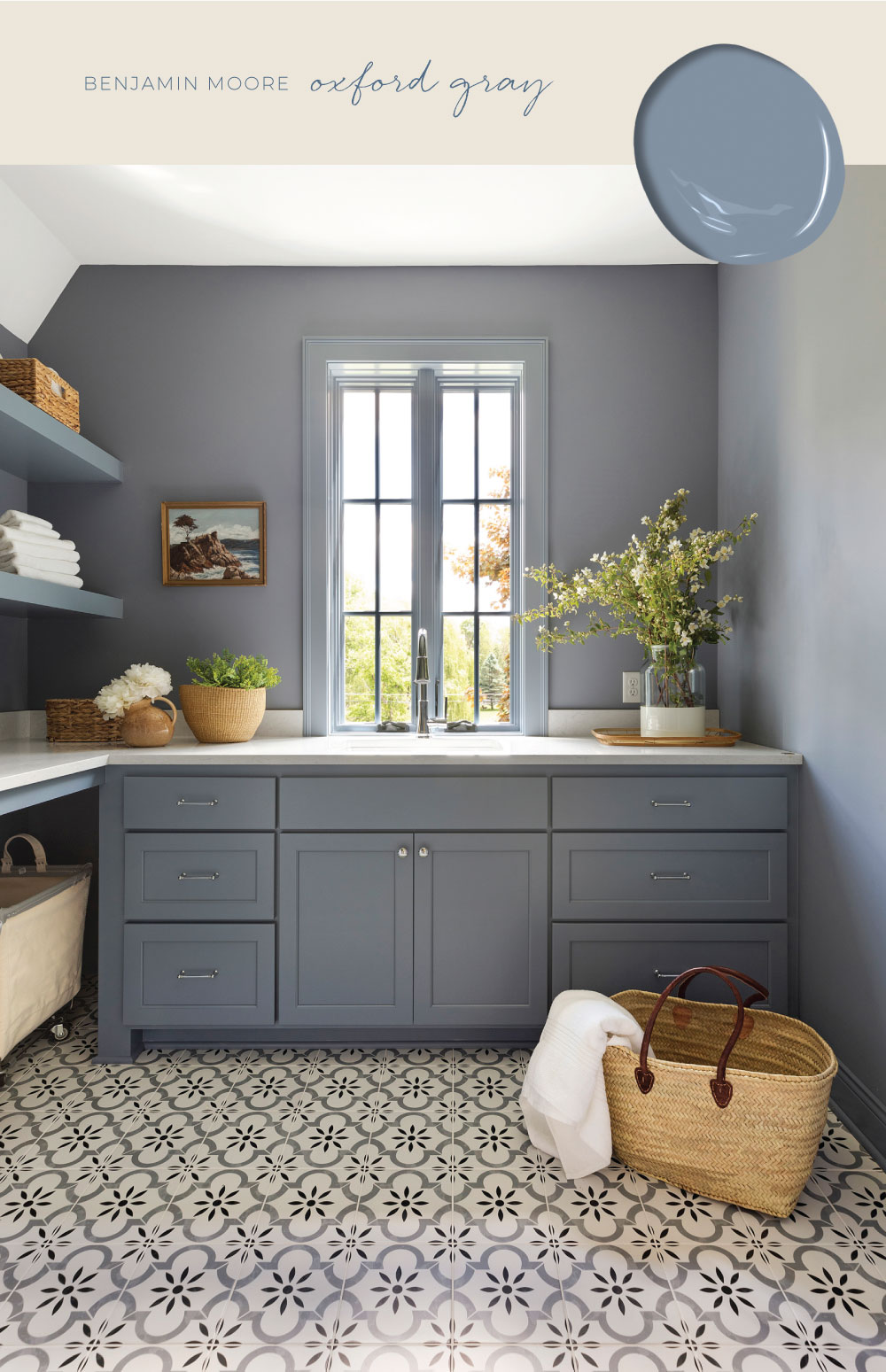 Our Favorite Blue And Gray Paint Colors Bria Hammel Interiors