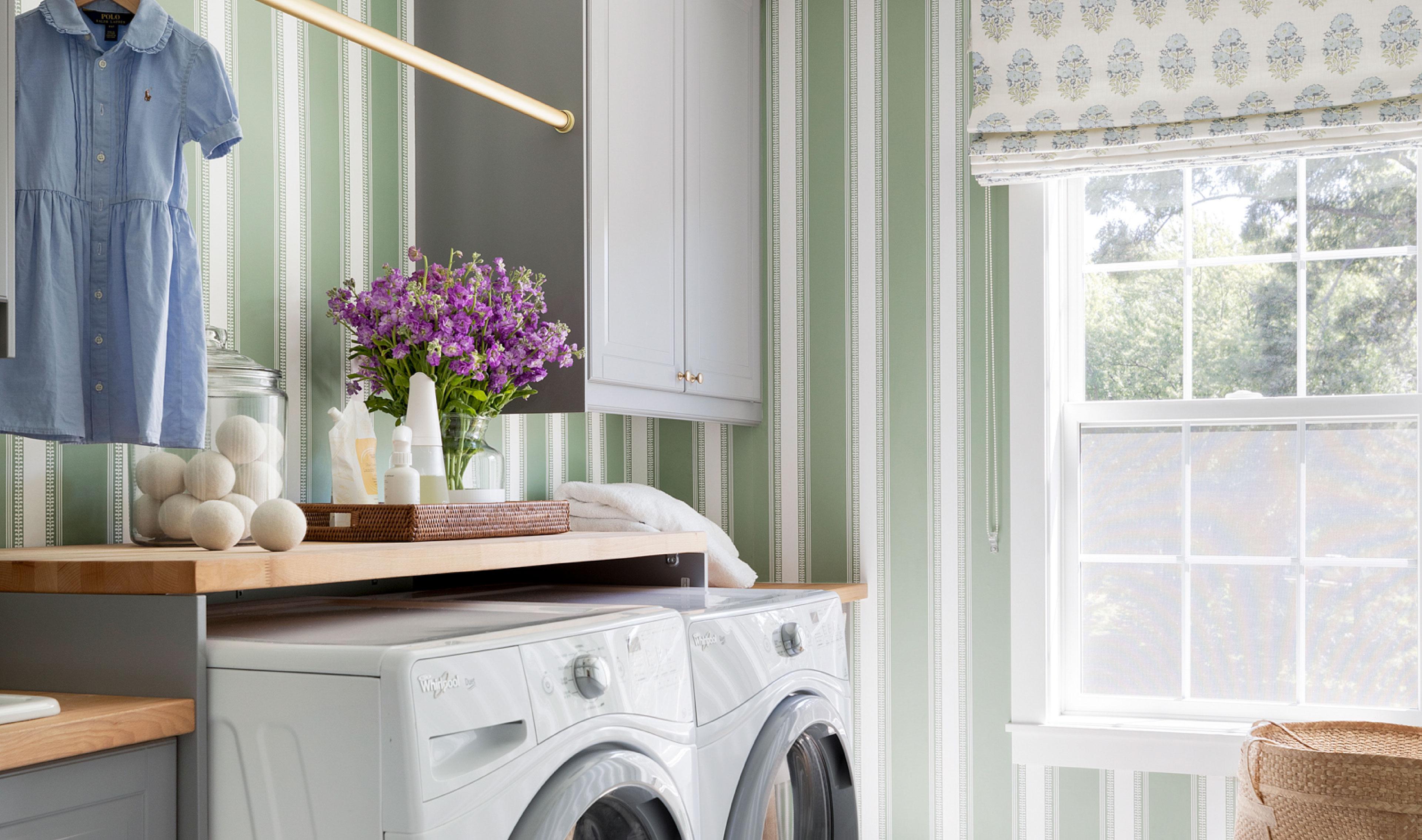 My Laundry Room Reveal   Bria Hammel Interiors