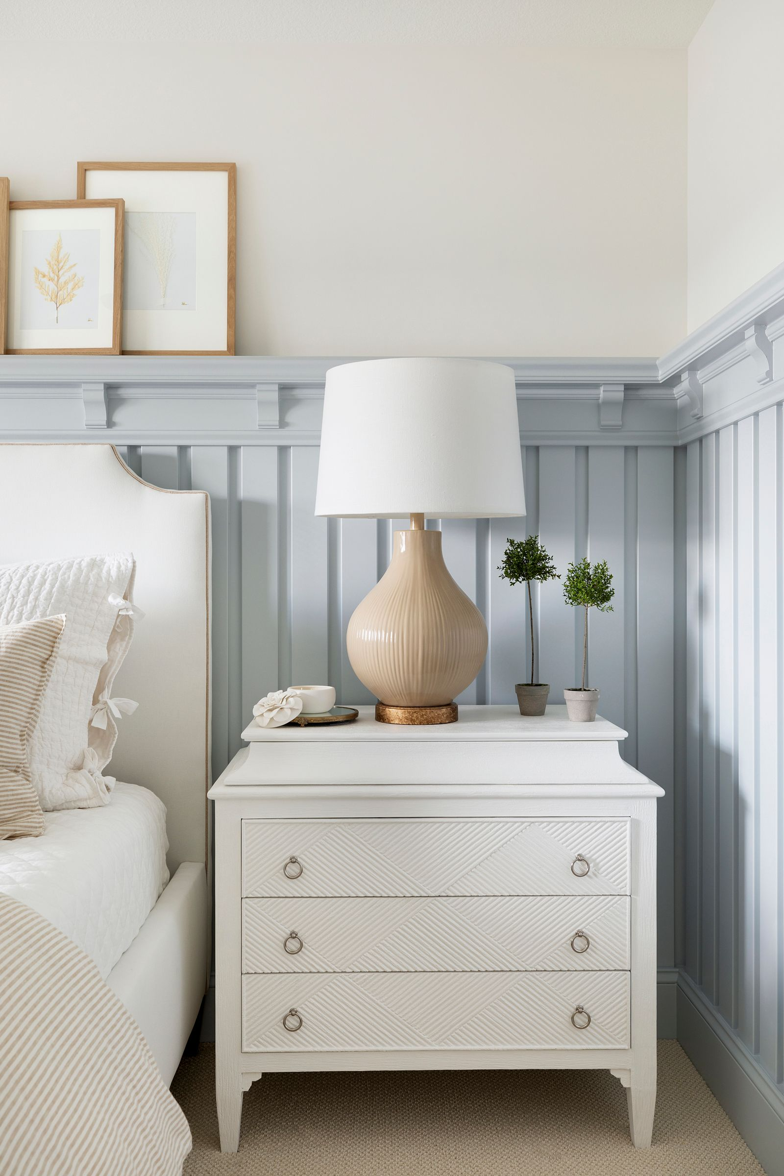 Nightstand Lamp Combinations Bria Hammel Interiors